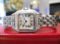 Cartier Ladies Cartier Panther Panthere Stainless Steel Roman Numeral Watch