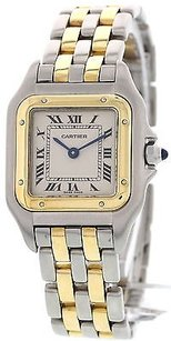 Cartier Ladies Cartier Panthere 18k Yellow Gold And Stainless Steel Watch 1057917