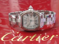 Cartier Laides Cartier Roadster Stainless Steel And Band 2675 Watch Quartz