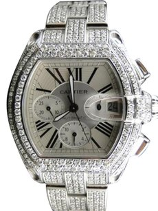 Cartier Mens Cartier Roadster Chronograph Ct Vs Diamond Watch