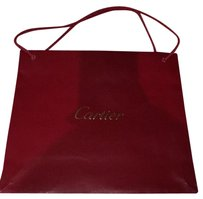 Cartier Shopping New Satchel in Red