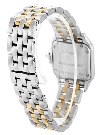 Cartier CARTIER PANTHERE W25029B6 GOLD AND STEEL LADIES WATCH