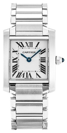 Preload https://item5.tradesy.com/images/cartier-silver-tank-francaise-w51008q3-stainless-steel-ladies-watch-6197209-0-0.jpg?width=440&height=440