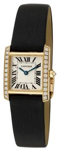 Cartier Cartier Tank Francaise 18K Yellow Gold Custom Diamond Ladies Watch WE100131
