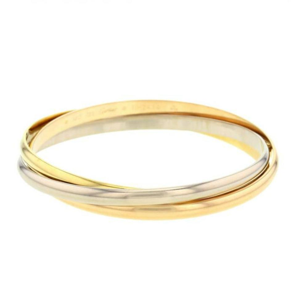 med trin medium tri ring size cartier gold boca trinity rings raton wedding product