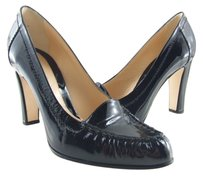Casadei 75% Off Retail Made In Italy Black Patent Leather Pumps