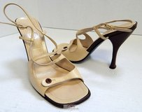 Casadei Italy Leather Beige Pumps