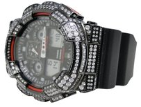 Casio Casio Ga G-shockg Shock Mens White Simulated Diamond Watch Joe Rodeo