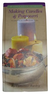 Catherine Bardey BOOK Making candles and fragrant potpouri home decor by Catherine Barday narrow hardcover learning manual guide