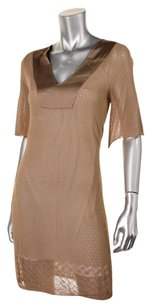 Catherine Malandrino short dress brown on Tradesy