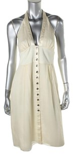 Catherine Malandrino short dress ivory on Tradesy