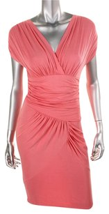 Catherine Malandrino short dress pink on Tradesy