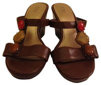 Cato Brown Wedges