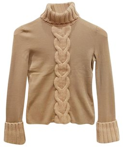 Cline Chunky Cable Knit Cashmere Sweater