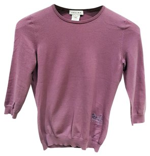Cline Crewneck Cropped Thin Light Sweater