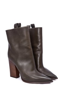 Cline Leather Boot Taupe Boots