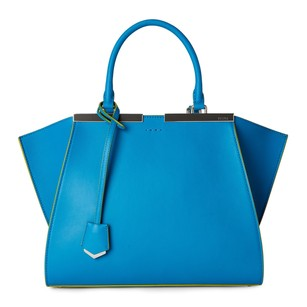 Fendi Satchel in Blue & Grey