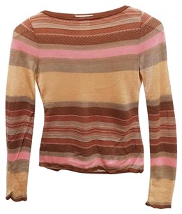 Cline Shimmer Silk Light Metallic Sweater