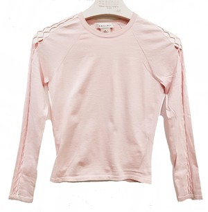 Cline Silk Cropped Knit Slim Light Sweater