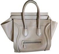Céline Tote in gray tan sand dune