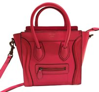 Cline Tote in highlighter Pink
