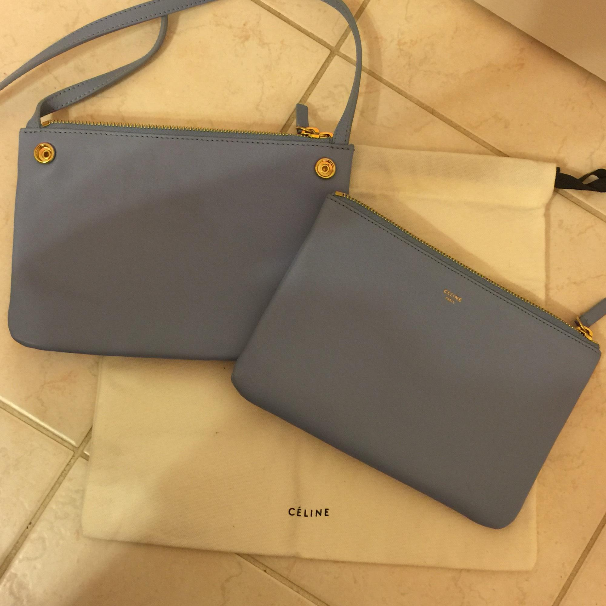 powder blue celine bag