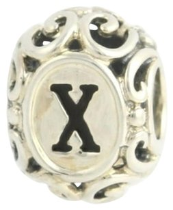Chamilia Chamilia Bead Charm - Sterling Silver Initially Speaking-letter X 2020-0749