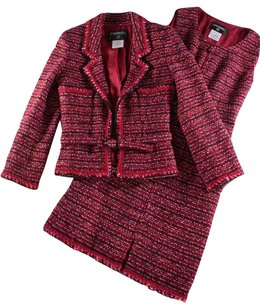 Chanel 36 Boucle Dress Ias Blazer