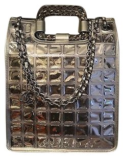 Chanel & Shoppers Tote in Silver