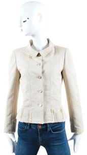 Chanel Silk Knit Beige Jacket