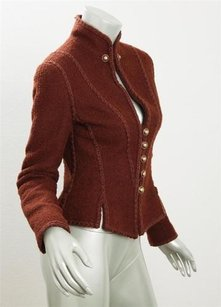 Chanel Womens Victorian Brown Jacket