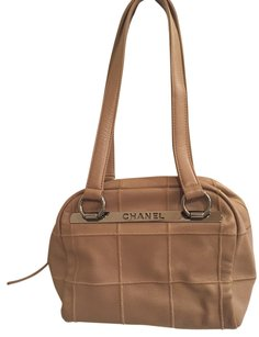 Chanel Includes Dustbag Satchel in Beige