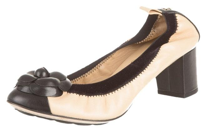 CHANEL Ballet Pump, Size: 6, Used