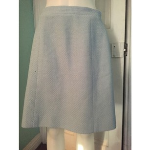 Chanel Blue 42 Skirt
