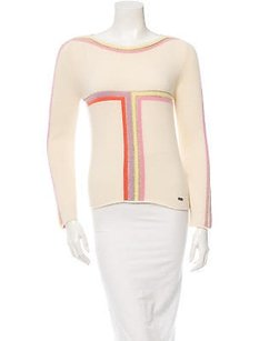 Chanel Cruise 2001 Vtg Cream Sweater
