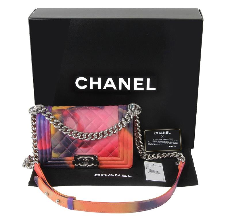 Chanel 2015 Flower Power Boy Limited Edition Paris Shoulder Bag | Shoulder Bags On Sale