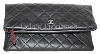 Chanel Boy Woc black Clutch