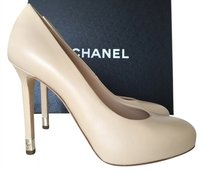 Chanel Calf Leather BEIGE NUDE Pumps