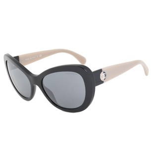 Chanel Chanel 5321-1333-26-57 Cat Eye Signature Sunglasses | Black Frame