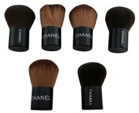 CHANEL CHANEL 6 pieces MAKEUP FINISHING/POWDER BRUSHES