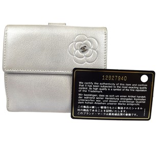 Chanel CHANEL CC Camellia Logos Bifold Wallet