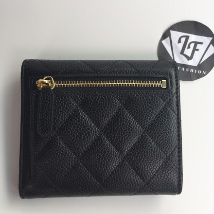 795cdf4e2497 Chanel Classic Flap Wallet Black Caviar | Stanford Center for ...