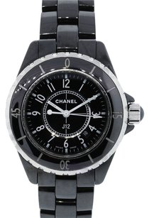 Chanel Chanel J12 H0968 Black Ceramic Ladies Quartz Watch