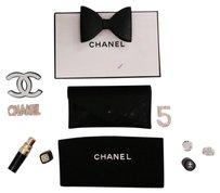 Chanel Chanel Lambskin Black Quilted Leather Clutch Style Long Wallet