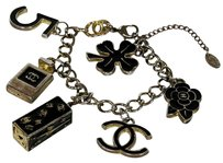 Chanel Chanel Limited Edition Multi Charm Bracelet Cuff Camellia