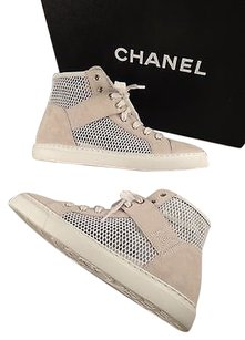 Chanel Fashion Sneakers White Athletic