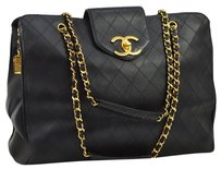 Chanel Jumbo Quilted Chain Shoulder Bag