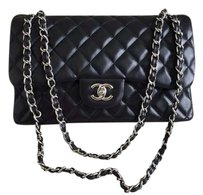 Chanel Lambskin Jumbo Shoulder Bag