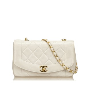 Chanel Lambskin Leather Leather Shoulder Bag
