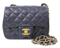 Chanel Mini Boy Classic Caviar Woc Cross Body Bag